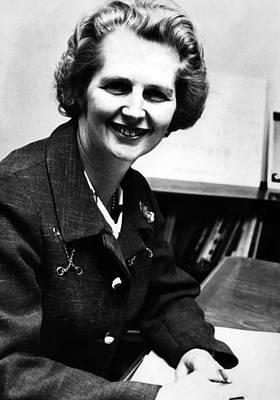 Ev-in Photograph - Margaret Thatcher, Future Prime by Everett