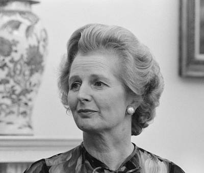 Conservative Photograph - Margaret Thatcher by War Is Hell Store