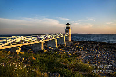Marshall Point Lighthouse Print by Diane Diederich