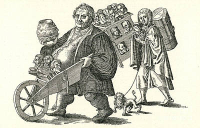 Martin Luther (1483-1546) Print by Granger