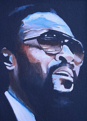 Oil For Sale Painting - Marvin Gaye. by Mikayla Ziegler