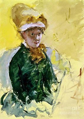 Self-portrait Photograph - Mary Cassatt (1845-1926) by Granger