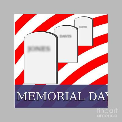 Memorial Day Original by Frederick Holiday