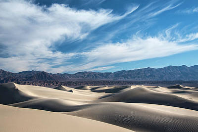 Plexiglas Photograph - Mesquite Flat Dunes 1969 by Bob Neiman