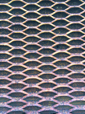 Repetition Photograph - Metal Grill by Tom Gowanlock