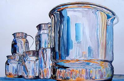 Walmart Painting - Metalica II by Patrick DuMouchel