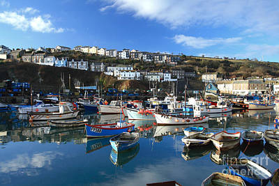 Mevagissey Print by Carl Whitfield
