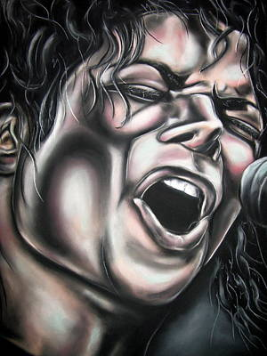 Michael Jackson Print by Zach Zwagil