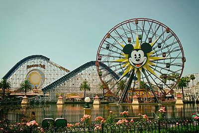 Roller Coaster Photograph - Mickey's World by Mountain Dreams