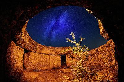 Milky Way Print by Okan YILMAZ