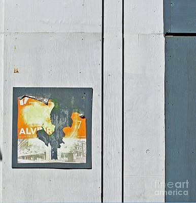 Mondrian Avenue Print by Joe Jake Pratt