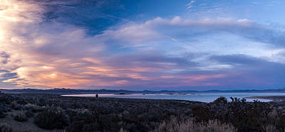Mono Lake Sunset Print by Cat Connor