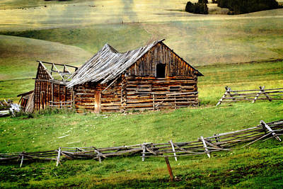 Photograph - Montana Ranch by Marty Koch