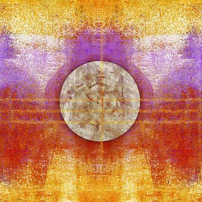 Lunar Digital Art - Moon Colors by Carol Leigh