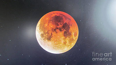 Photograph - Moon. by Joyce Woodhouse