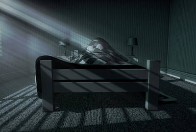 Bedside Table Digital Art - Moonlight Sleep In by Allan Swart