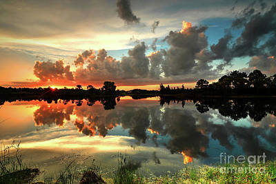 Photograph - Morning Clouds by Rick Mann