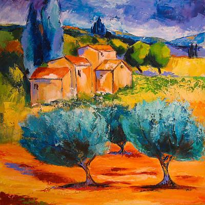 Morning Light Painting - Morning Light By Elise Palmigiani by Elise Palmigiani
