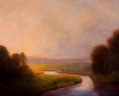Painting - Morning Stillness by Jan Blencowe
