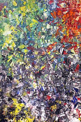 Mosaic  Print by Munir Alawi
