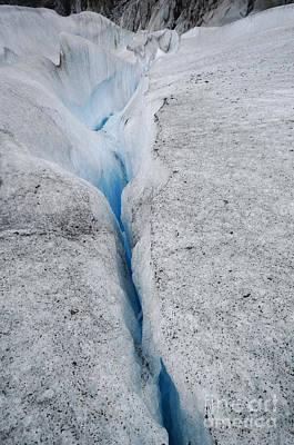 Abstract Photograph - Moulin At Mendenhall Glacier, Juneau, Alaska by Dani Prints and Images