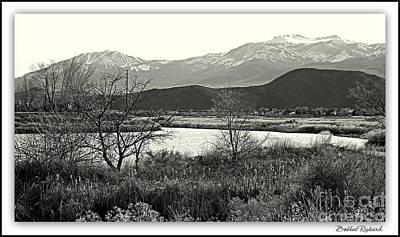 High Sierra Digital Art - Mount Rose  by Bobbee Rickard