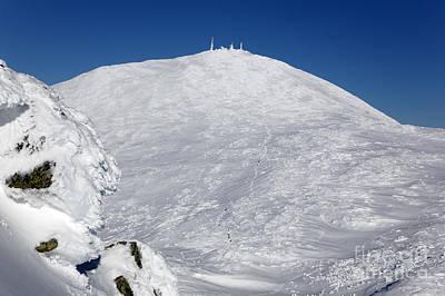 Mount Washington - White Mountain New Hampshire Usa Winter Print by Erin Paul Donovan