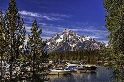 Horizontal Photograph - Mountain Lake by Andrew Soundarajan