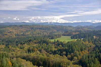 Mt. Hood From Jonsrud Viewpoint Sandy Oregon. Original by Gino Rigucci