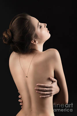 Studio Art Jewelry Photograph - Naked Sensual by Aleksey Tugolukov