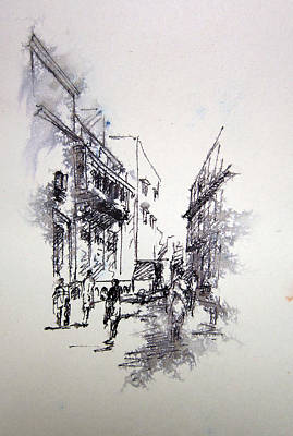 Naqsh School Of Arts Print by M Kazmi