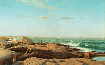 William Stanley Haseltine Painting - Narragansett Bay by William Stanley Haseltine