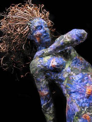 Purple Grapes Mixed Media - Nectar A Sculpture By Adam Long by Adam Long