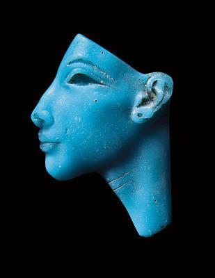 Artifacts Photograph - Nefertiti by Egyptian School