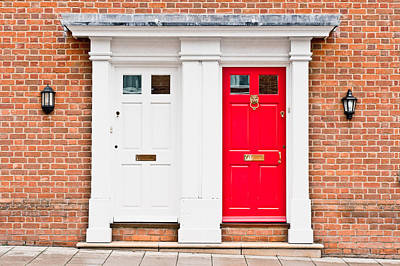 Letter Box Photograph - Neighbours by Tom Gowanlock