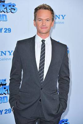 Neil Patrick Harris At Arrivals For The Print by Everett