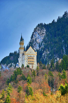 Adolf Digital Art - Neuschwanstein Castle. Bavaria. Germany. by Andy Za