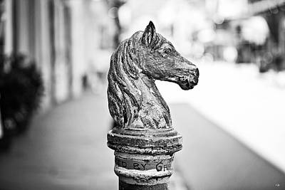 New Orleans Hitching Post Print by Scott Pellegrin