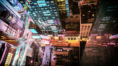 Times Square Photograph - New York City - Night by Vivienne Gucwa