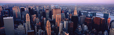 New York City Skyline Print by Panoramic Images