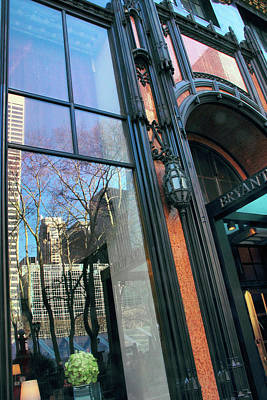 Facade Reflections Print by Jessica Jenney
