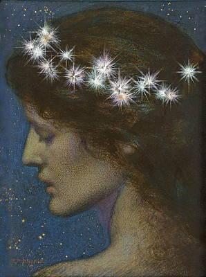 Edward Robert Hughes Painting - Night by Edward Robert Hughes
