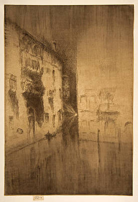 James Abbott Mcneill Whistler Painting - Nocturne. Palaces by James Abbott McNeill Whistler