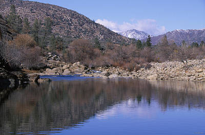 North Fork Kern River Print by Soli Deo Gloria Wilderness And Wildlife Photography