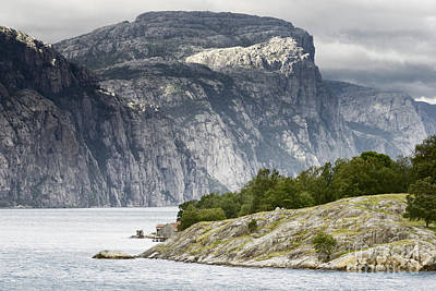 Nature Photograph - Norway Landscapes. Beautiful Norwegian Fjords by Dani Prints and Images