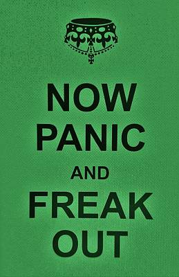 British Propaganda Digital Art - Now Panic 22 by Rob Hans