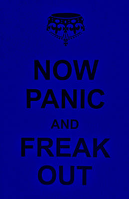 British Propaganda Digital Art - Now Panic 25 by Rob Hans