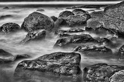 Rocks Photograph - Ocean Break by Hugh Smith