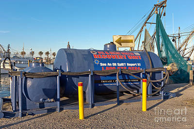 Oil & Bilge Water Recovery Unit Print by Inga Spence
