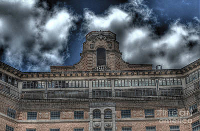 Haunted Photograph - Old Baker Hotel by Hilton Barlow
